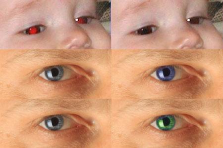 Usuwanie efektu czerwonych oczu